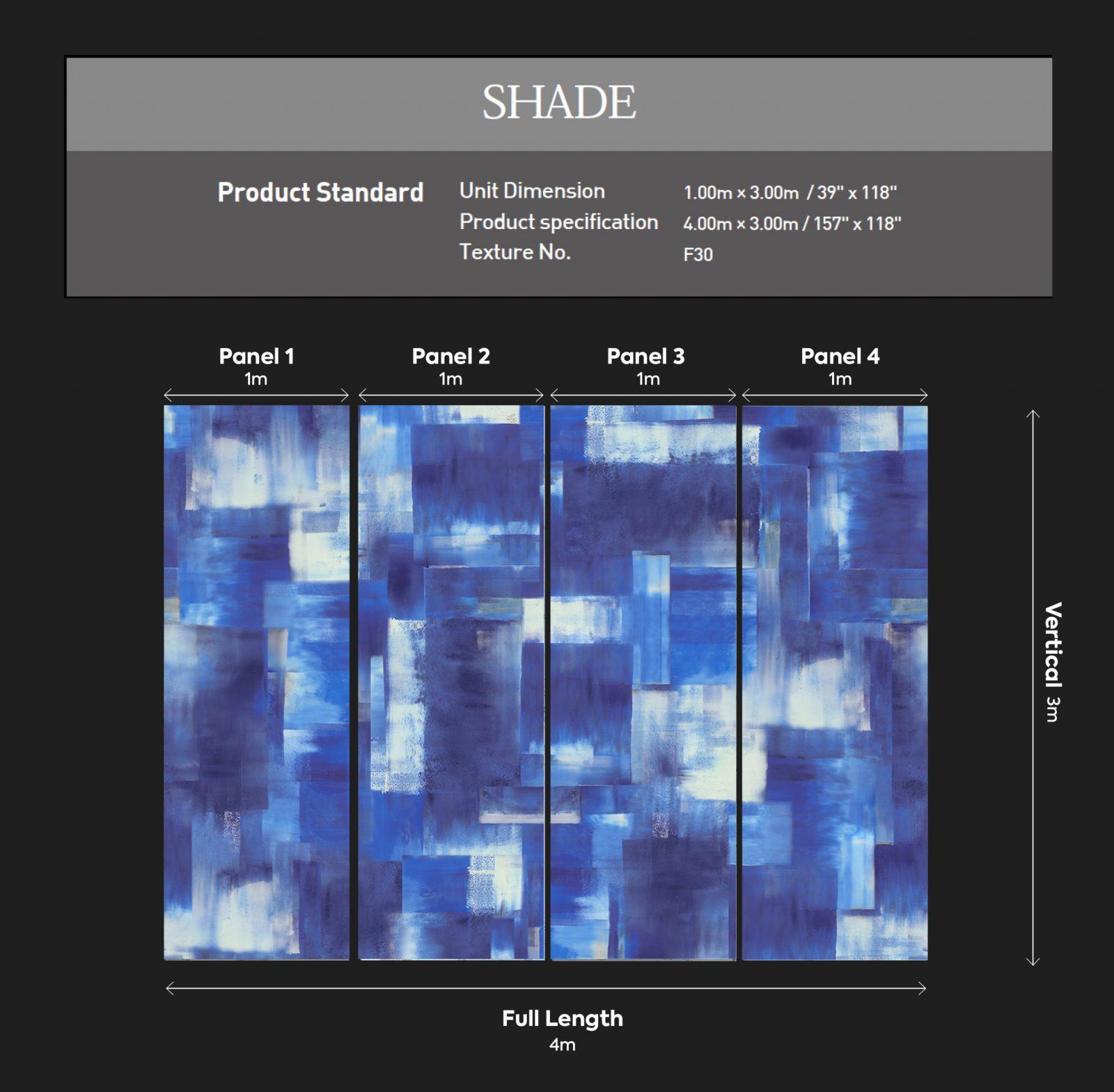 Shade Dimensions