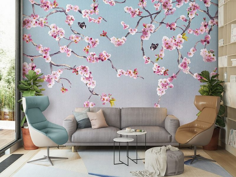 Blossom John Wilman Mural
